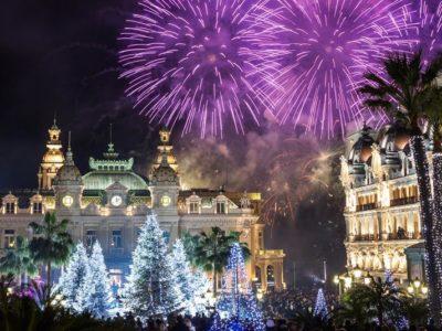 Azurna obala Nova godina - Monako, Monte Karlo