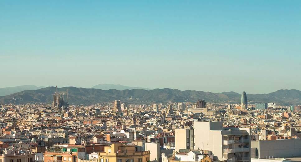Panorama grada Barselone