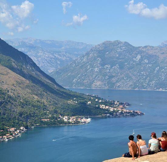 Bokokotorski zaliv - Boka Kotorska vidikovac