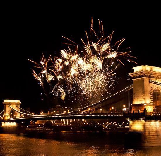 Budimpešta most nova godina