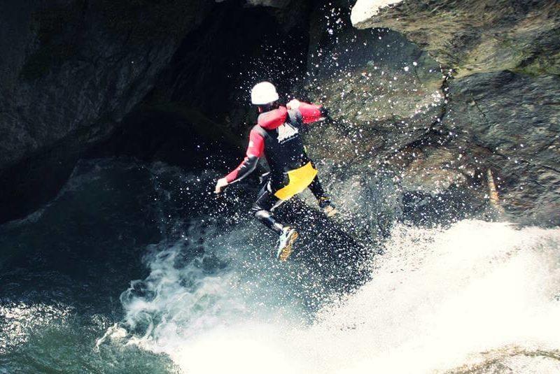 kanjoning kroz Kanjon Nevidio u Crnoj Gori