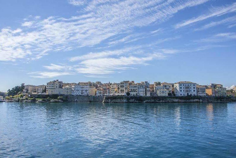 Panorama grada Krfa
