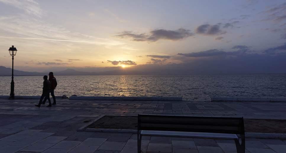 Zalazak sunca u Lutrakiju
