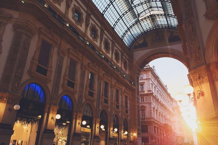 Milano Duomo prolaz