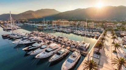 Porto Montenegro ljeto i odmor