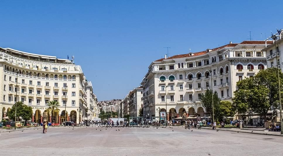 šetalište u Solunu